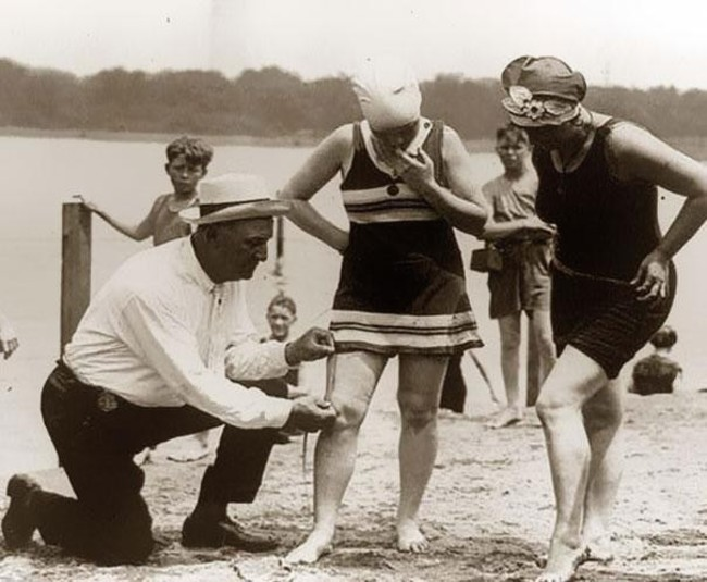 9-a-beach-official-measures-bathing-suits-to-ensure-they-arent-too-short-1920s