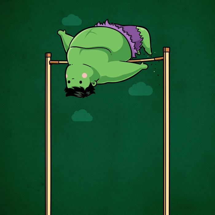 Sporty Hulk - High Jump