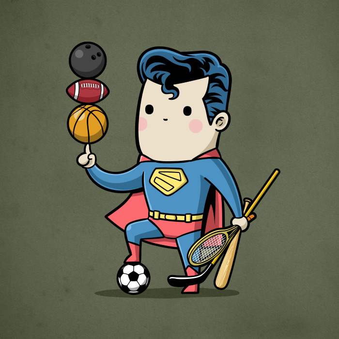 Sporty Superman - All Sports