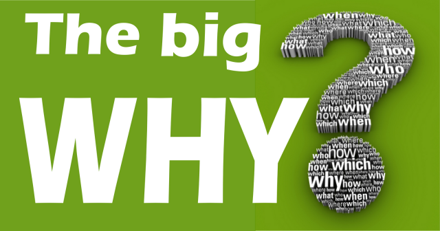 Image result for you have to know your big why