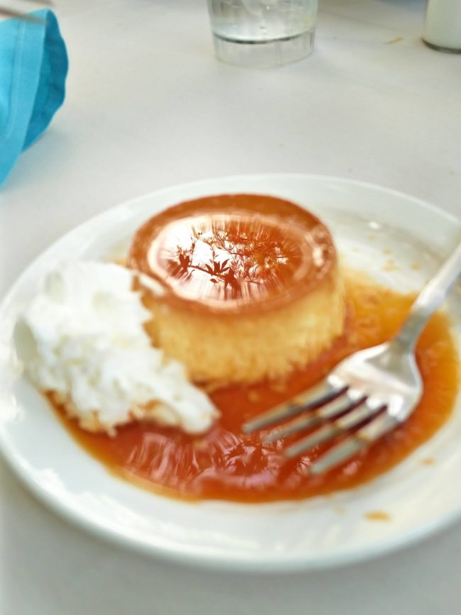 This flan looks even yummier than usual!