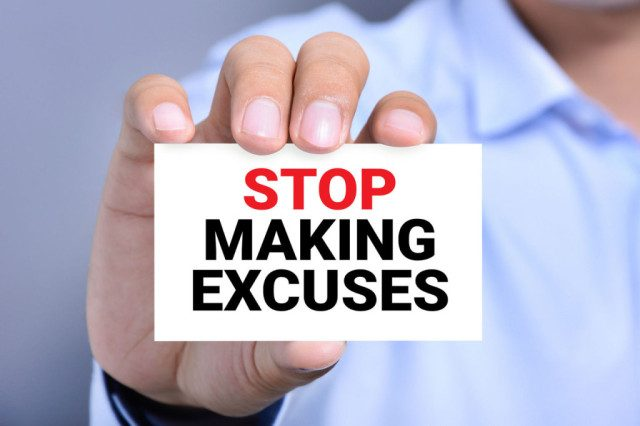 Image result for stop blaming and making excuse
