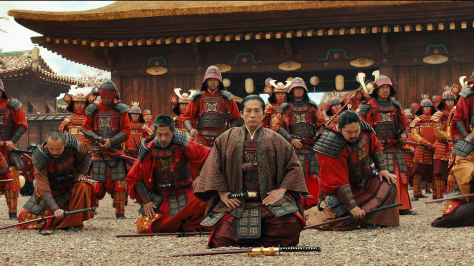 "Oishi (HIROYUKI SANADA) leads the Ronin in the action-adventure ""47 Ronin"".  After a treacherous warlord kills their master and banishes their kind, 47 leaderless samurai vow to seek vengeance and restore honor to their people.  Driven from their homes and dispersed across the land, this band of Ronin must seek the help of Kai (Keanu Reeves)--a half-breed they once rejected--as they fight their way across a savage world of mythic beasts, shape-shifting witchcraft and wondrous terrors."