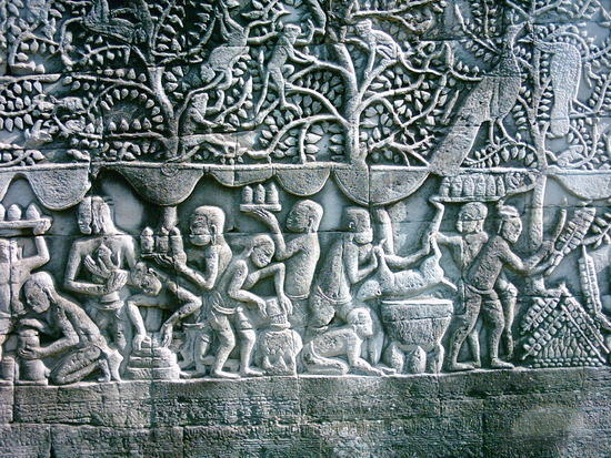 bayon-bas-relief-of-daily-life-siem-reap