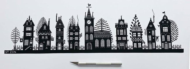 This Artist Just Needs A Single Piece Of Paper To Create Something Amazing