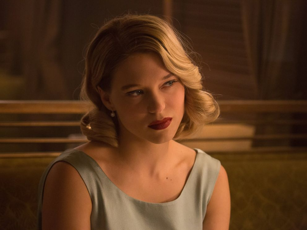 PHOTO: Lea Seydoux in the forthcoming James Bond film, Spectre.