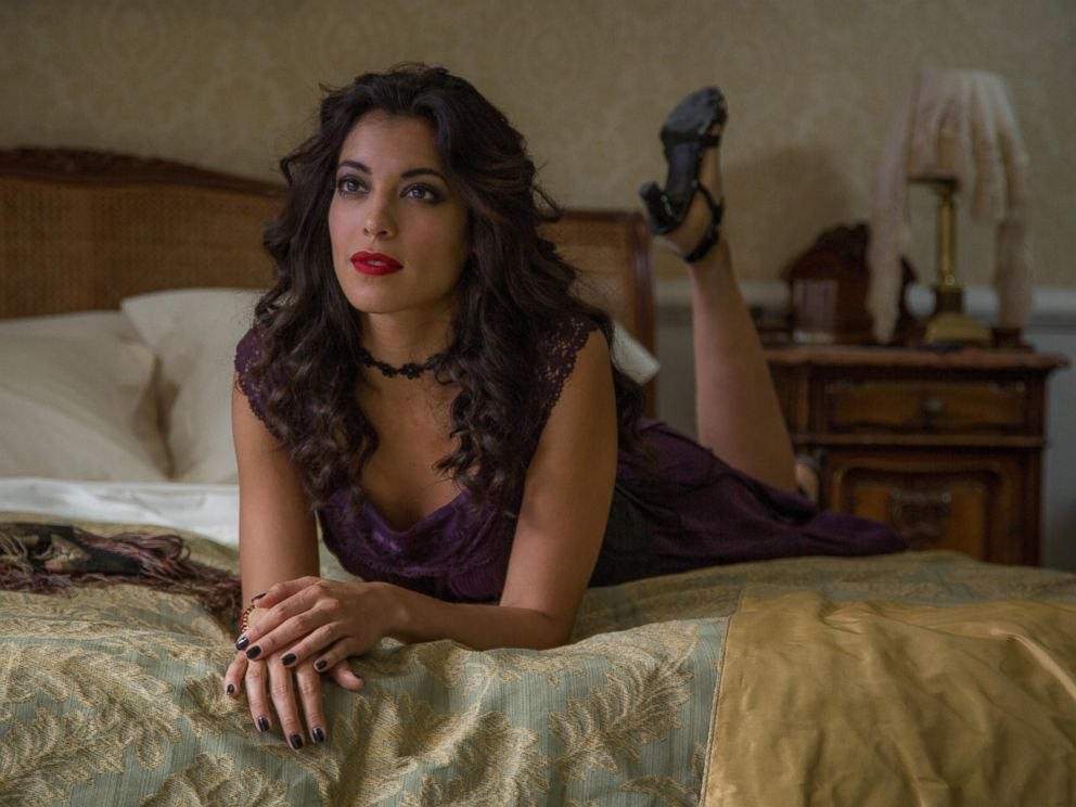 PHOTO: Stephanie Sigman in the forthcoming James Bond film, Spectre.