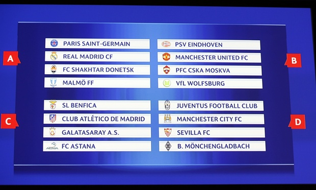 Champions League PSG real madrid