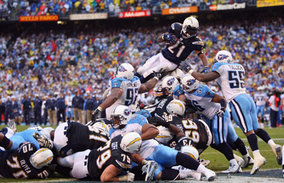 Wild Card Game: Tennessee Titans v San Diego Chargers