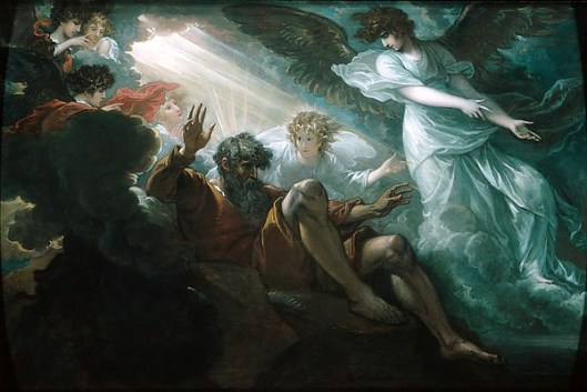 "4. Bức ""Moses Shown the Promised Land"", 1801, (Họa sĩ: Benjamin West)"