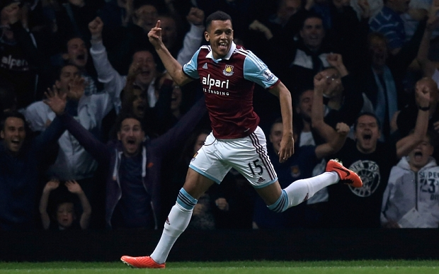 All smiles now: Ravel Morrison's form improved at West Ham once his rotten teeth were removed