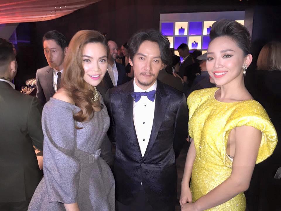 Ca sĩ Tóc Tiên cũng có mặt tại sự kiện này. (Ảnh: Facebook)