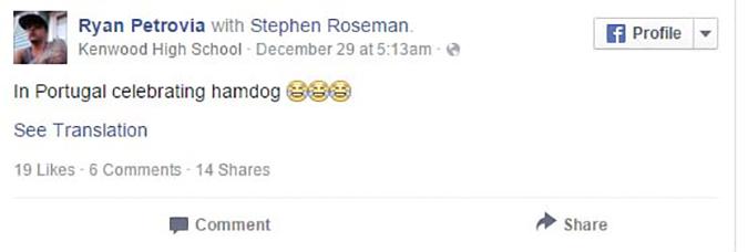 trò lừa trên Facebook về chú chó bị bỏng mặt do cứu người (Ảnh: Internet)
