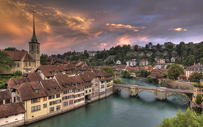Bern - Thụy Sĩ. (Ảnh: Internet)