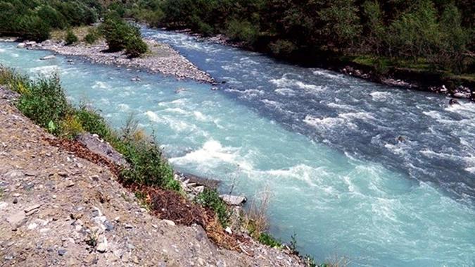 Sông Black và sông White Aragvi ở lãnh thổ Đông Georgia. (Ảnh: Internet)