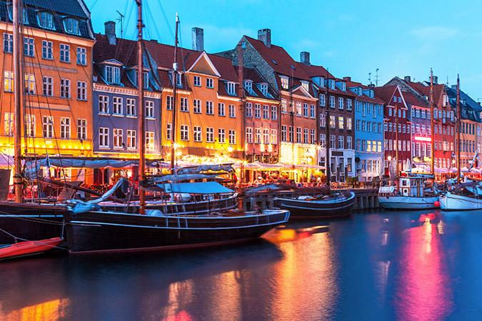 Copenhagen - Đan Mạch. (Ảnh: Internet)