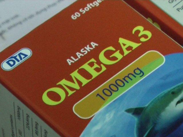 Omega 3 có xuất xứ từ Trung Quốc