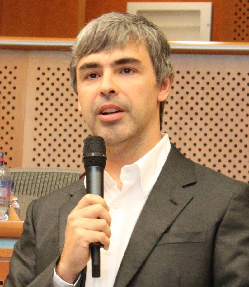larry page dong sang lap google