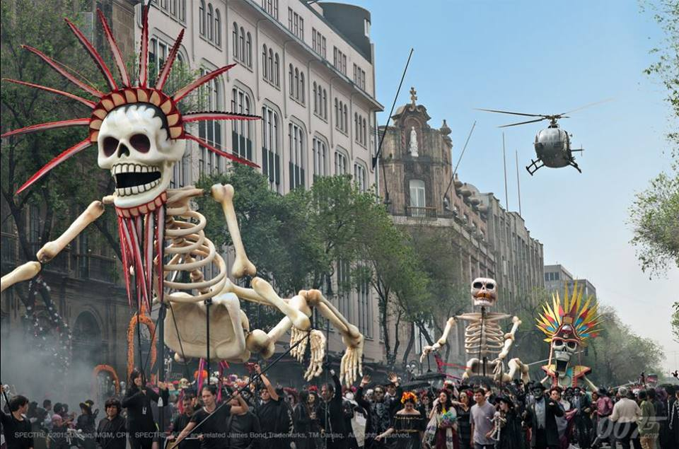 day of the dead mexico city
