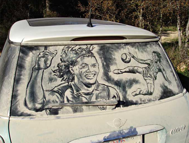dirty car art 10
