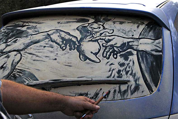 dirty car art 16