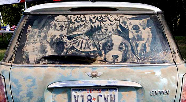 dirty car art 18
