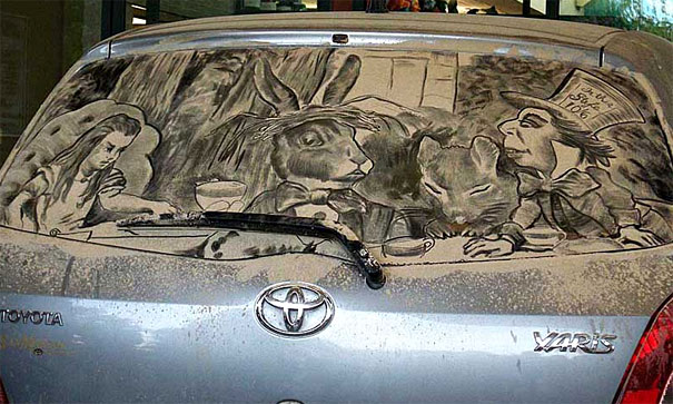 dirty car art 23