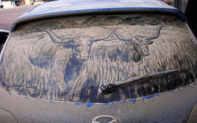 dirty car art 28