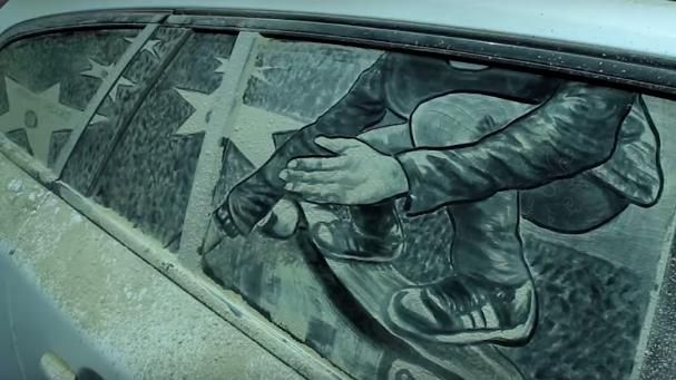 dirty car art 5