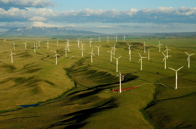 Foote Creek Wind Farm and Elk Mountain