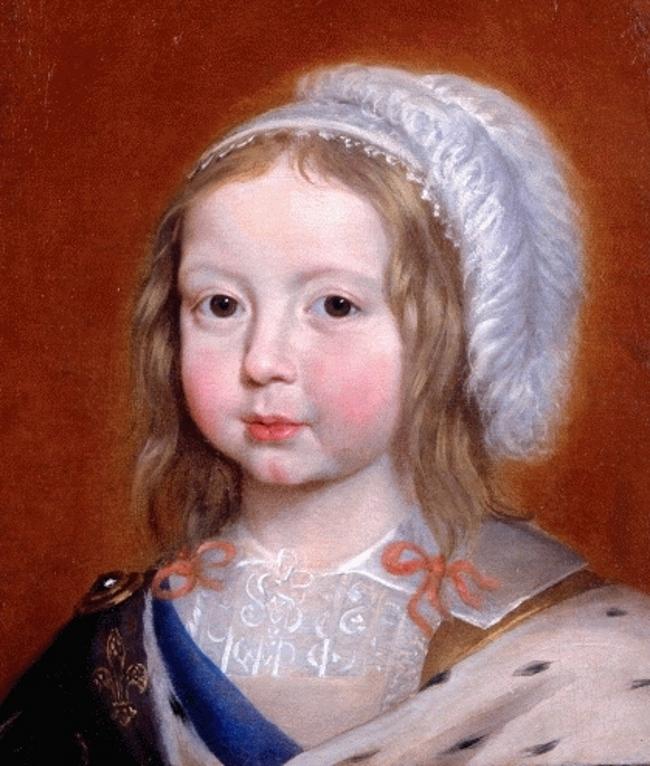 Thời thơ ấu của Louis-Dieudonné - tước hiệu Trữ quân nước Pháp (Dauphin of France)