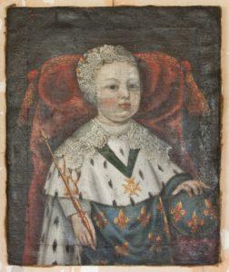 Vua Louis XIV khi còn nhỏ