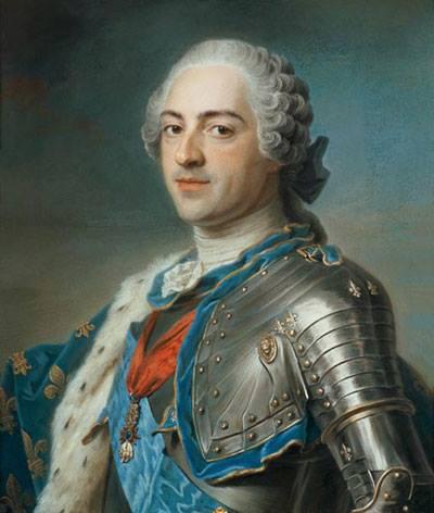 Vua Louis XIV đẹp đẽ và oai nghiêm