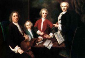 Bach và 3 cậu con trai