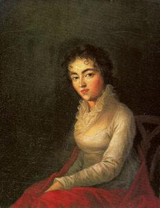 Người vợ của Mozart- Constanze năm 1782