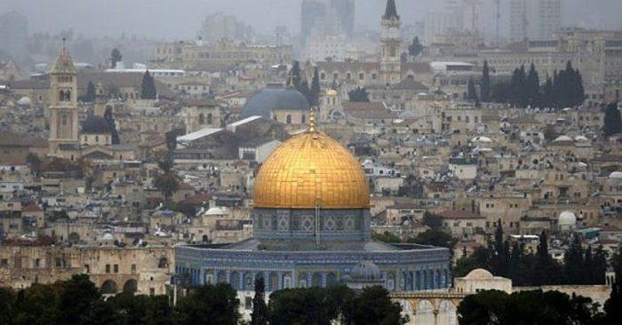 Thành thánh Jerusalem. (AFP Photo/Ahmad Gharabli)