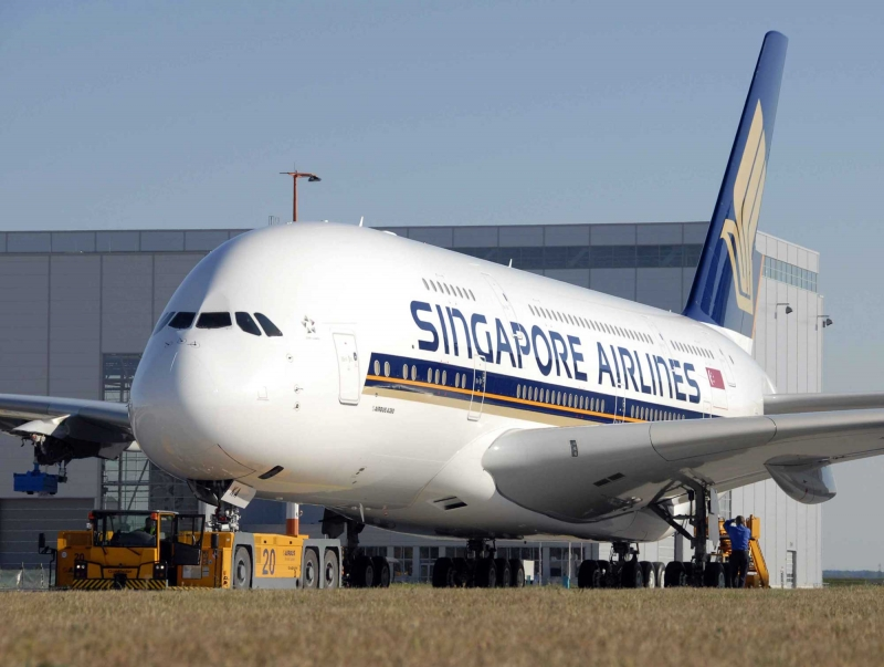 A380 của Singapore Airlines. (Ảnh Pinterest)