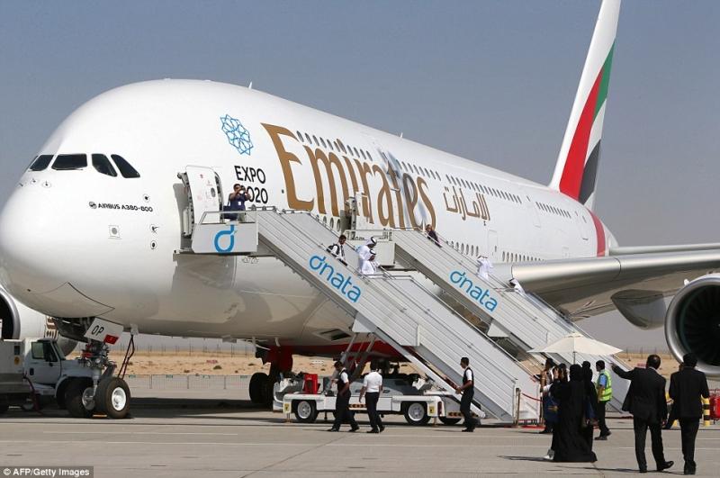 Emirates hiện đang sở hữu 101 chiếc A380. (Ảnh: Getty)