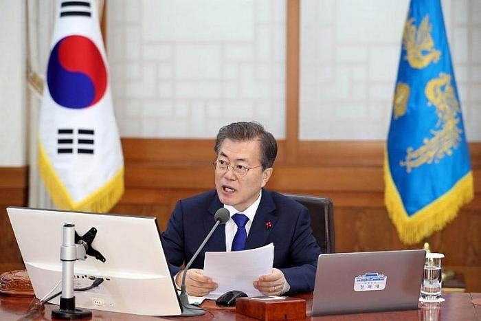 Hàn Quốc đề xuất thời điểm đối thoại cấp cao liên Triều. (Ảnh: EPA)