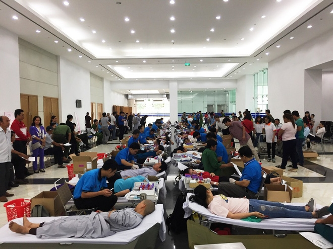Người dân hiến 1.500 đơn vị máu dự trữ trong dịp Tết