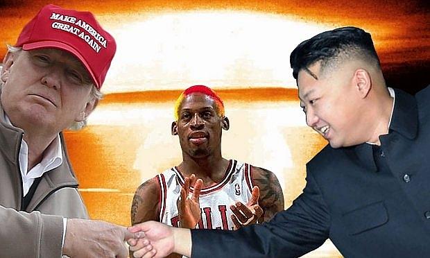 Ngôi sao bóng rổ từng bày tỏ nguyện vọng muốn được Tổng thống Trump công nhận là đặc phái viên hòa bình giữa Mỹ và Triều Tiên (Ảnh: Getty).