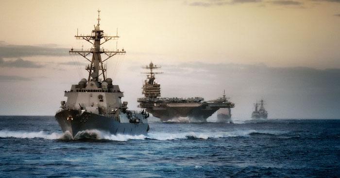 Các tàu chiến của Hải quân Hoa Kỳ