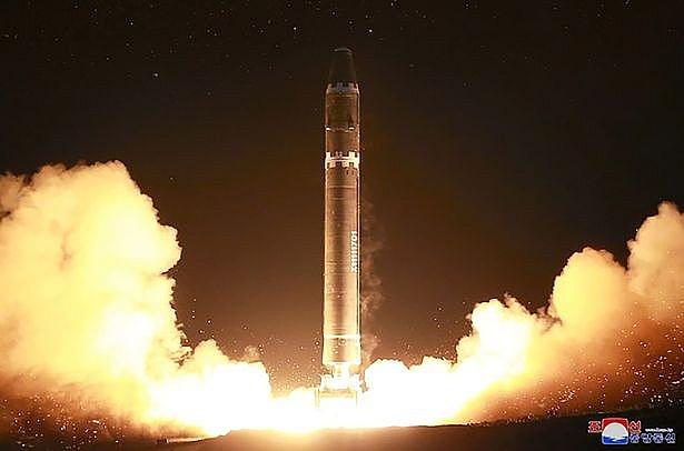 Hầu hết các vụ phóng thử tên lửa của Triều Tiên đều được thực hiện ở Cửa Bắc bãi thử Punggye-ri (Ảnh: Daily Mirror).