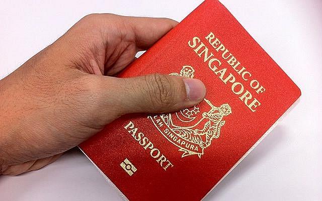 Hộ chiếu Singapore từng vượt lên, chiếm vị trí của Đức (Ảnh: Yahoo).