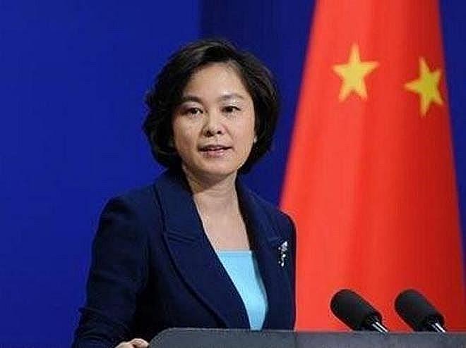 Người phát ngôn Bộ Ngoại giao Trung Quốc, bà Hoa Xuân Oánh (Ảnh: Sina).
