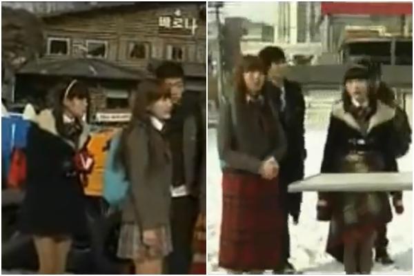 Muôn kiểu chống rét hài hước của sao Hàn khi đóng phim mùa đông