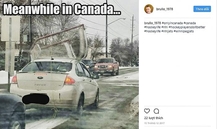 Những bức ảnh chứng minh cuộc sống thú vị trong lòng đất nước Canada