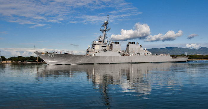 tàu khu trục USS Hopper của hải quân Hoa Kỳ
