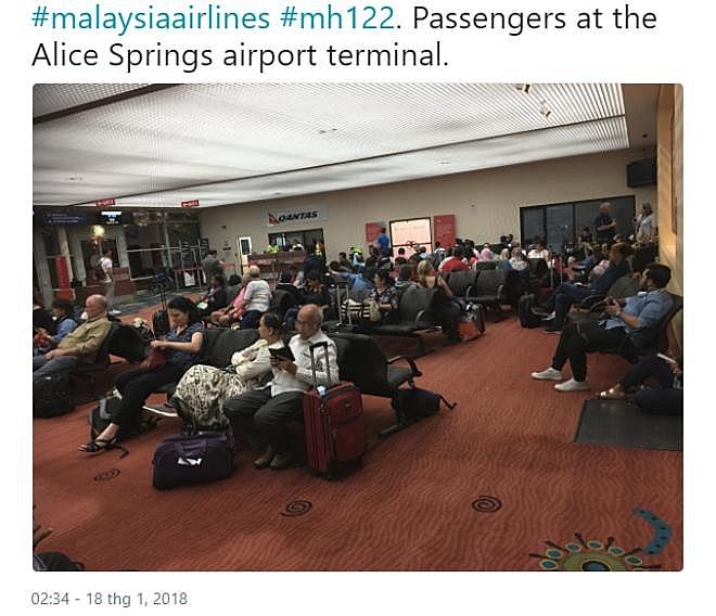 Máy bay Malaysia gặp sự cố