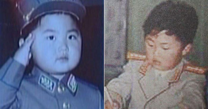 Hình ảnh thời thơ ấu của lãnh đạo Triều Tiên Kim Jong Un (Ảnh: Yonhap News)